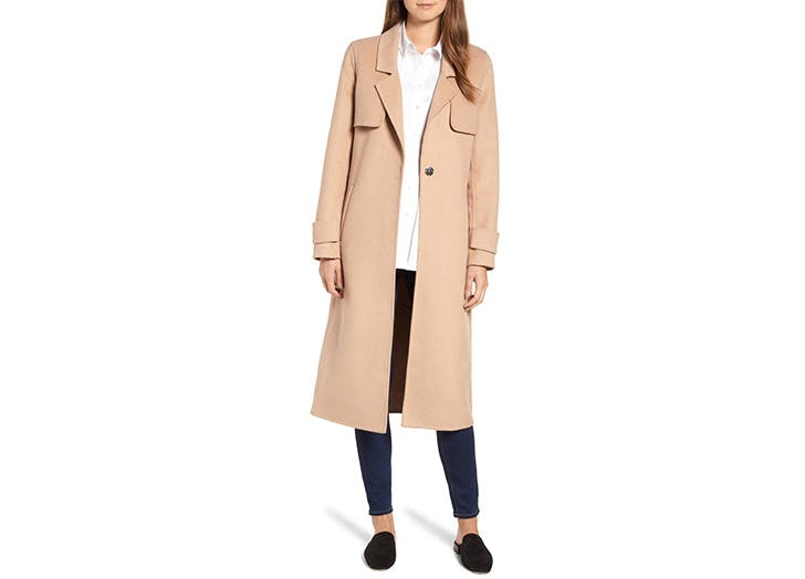 Kenneth Cole camel coat