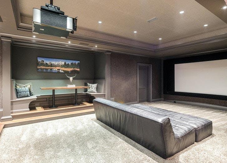 Kristin Cavallari home for sale entertainment room