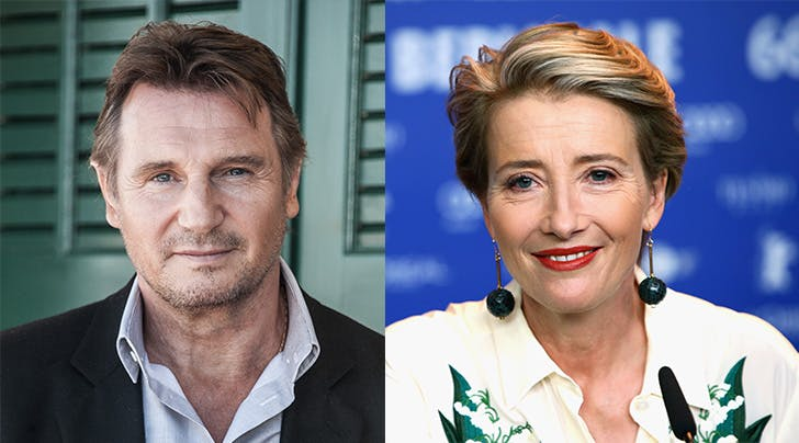 'Love Actually' Co-stars Emma Thompson & Liam Neeson Are Reuniting in *This* New Blockbuster