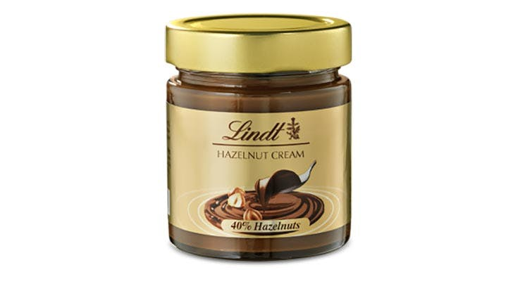 PSA: Lindt Just Launched Its Own Version of Nutella