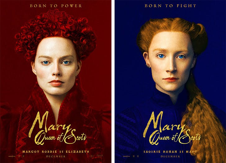 Mary Queen of Scots posters