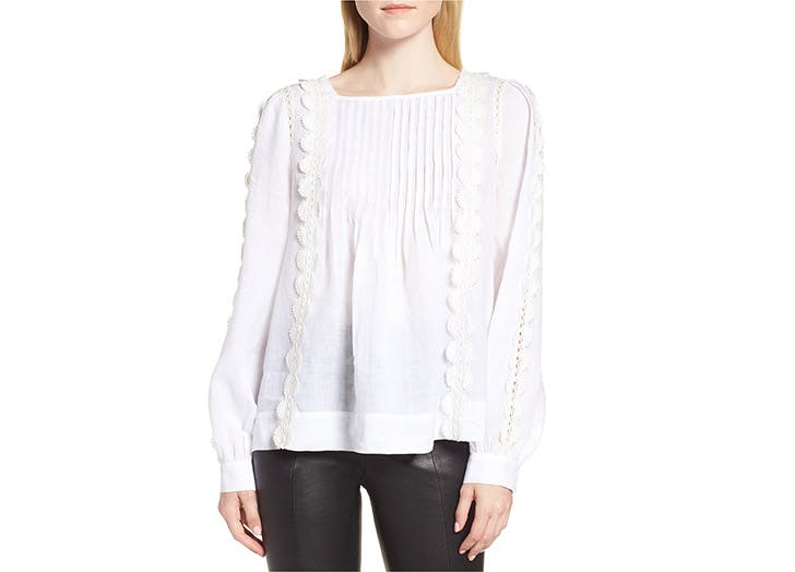 Nordstrom Signature white blouse