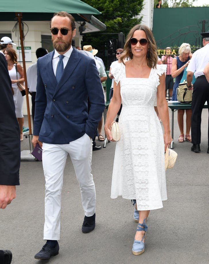 Pippa and James Middleton Wimbledon.l