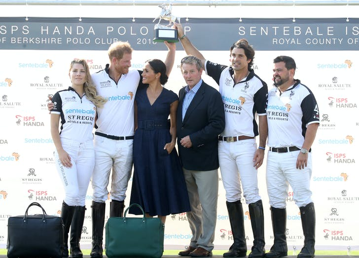 Prince Harry wins Sentebale Polo Cup