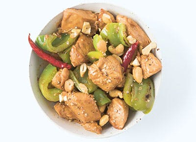 Stir Fry Kung Pao Chicken 290