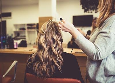 Strandlighting hair dyeing technique 400