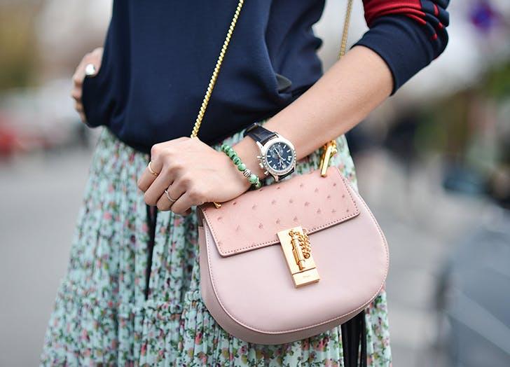 a crossbody bag by chloe