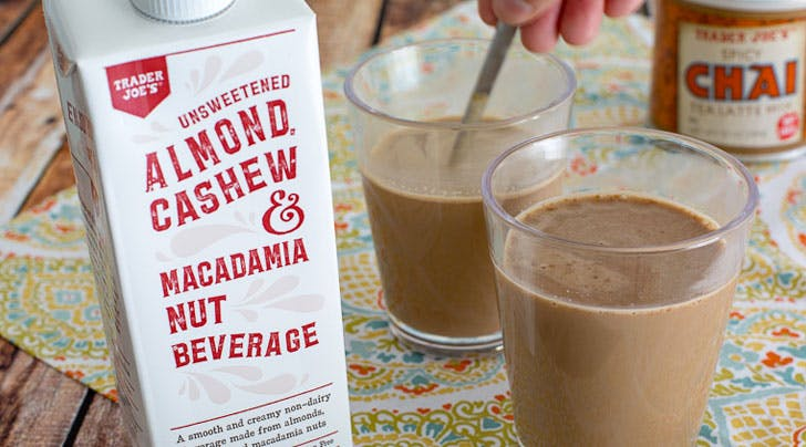 Trader Joes Has a New Nut Milk That Your Iced Coffee (and Wallet) Will Thank You For