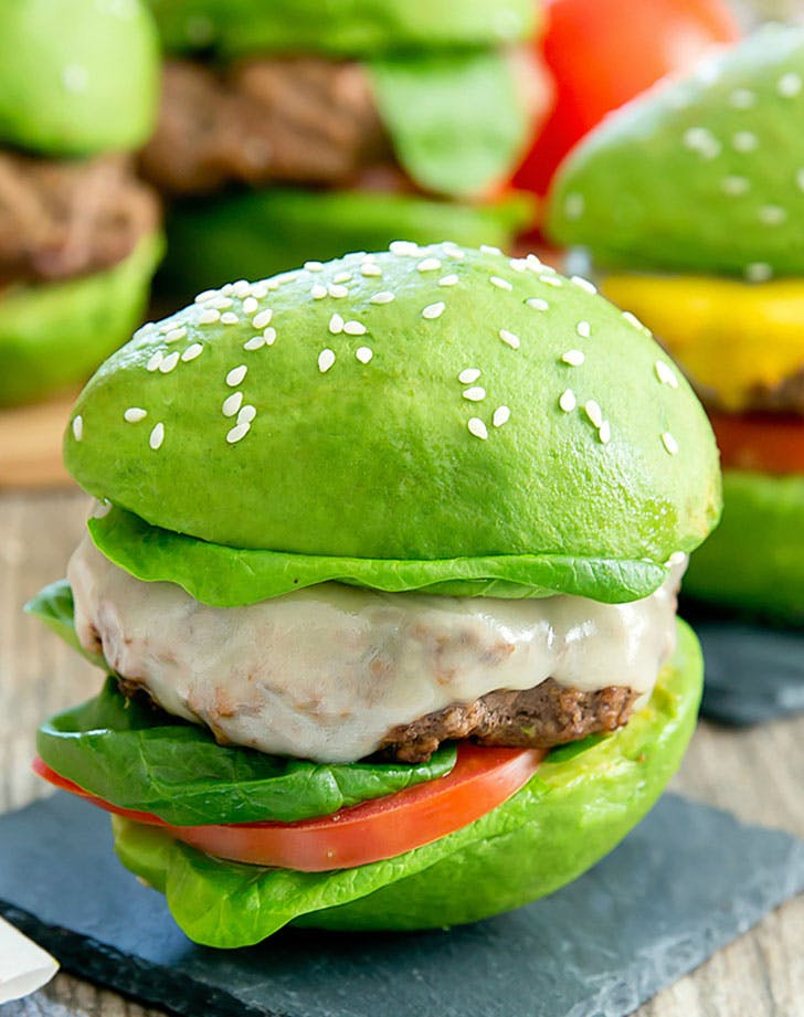 avocado bun burgers recipe