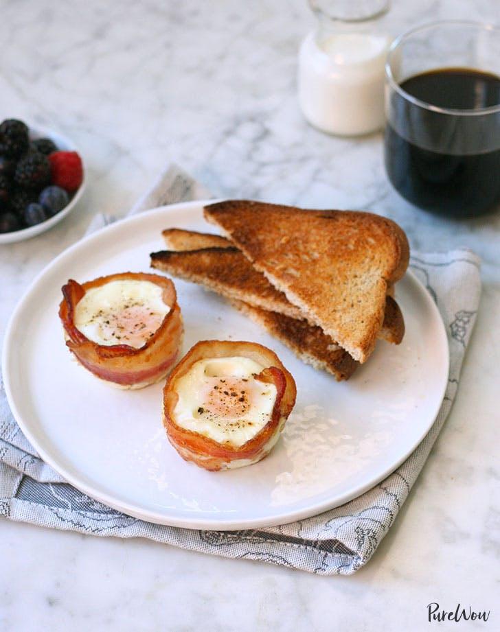bacon wrapped eggs recipe