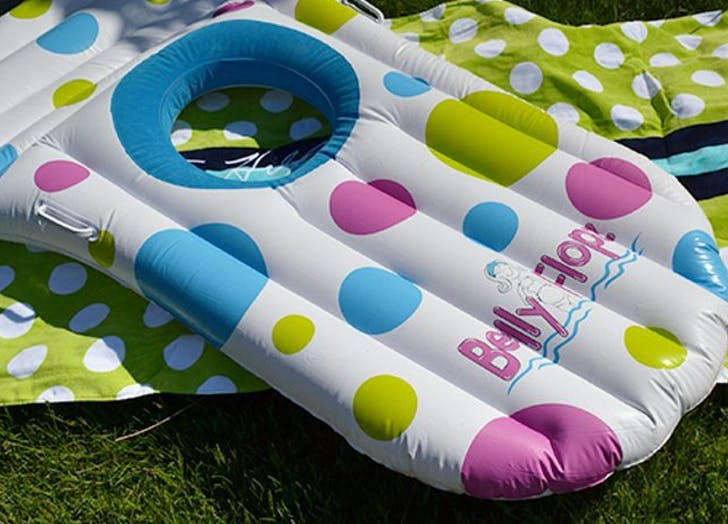 Someone Invented a Pool Float for Pregnant Women and It Made Our Whole Damn Summer