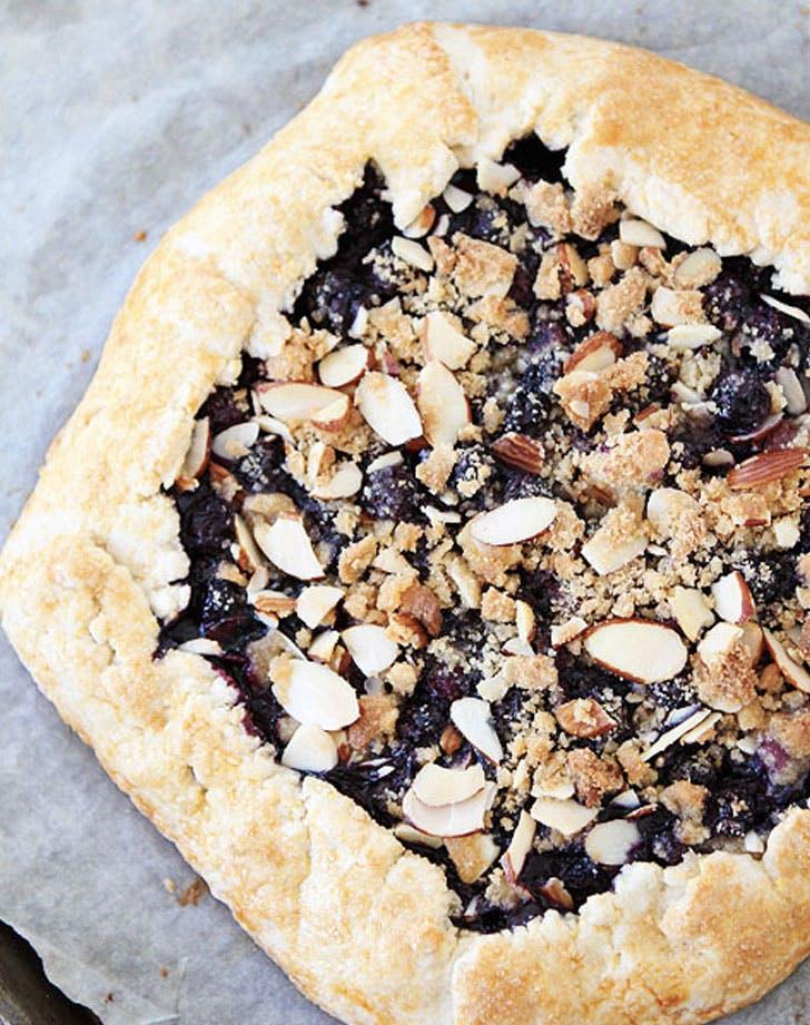 blueberry almond struesel galette recipe