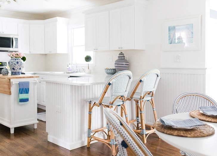 bright white kitchen renovation 1