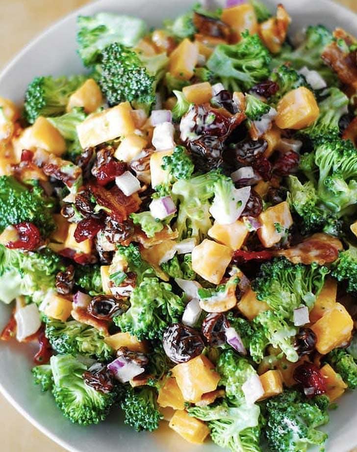broccoli sal ad bacon cheese