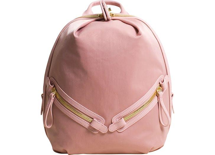 caraa pink gym backpack