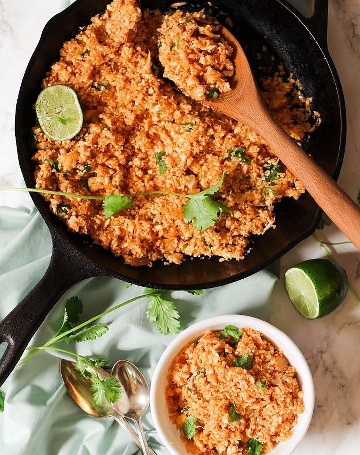 cauliflower mexican rice recipe