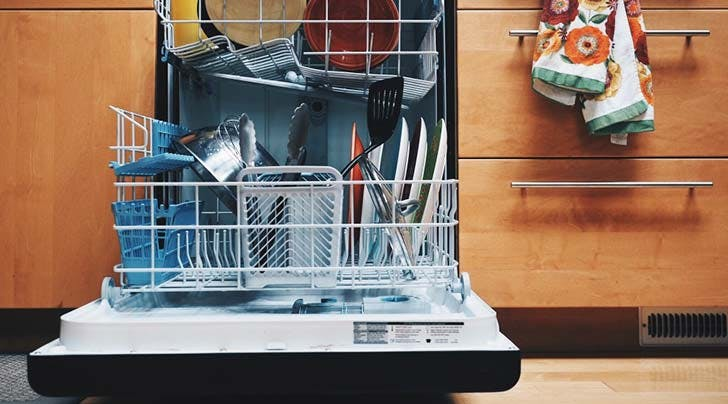 PSA: Pre-Rinsing Dishes Before Loading the Dishwasher Will Actually Make Them Dirtier
