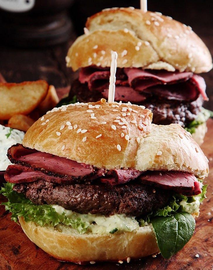 corned beef burger recipe
