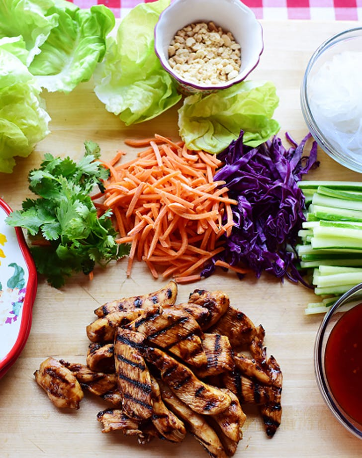 grilled chicken lettuce wraps recipe