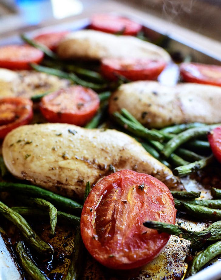 italian chicken sheet pan supper recipe