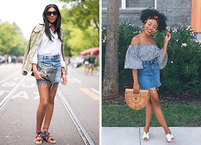 yet not vulgar speical offer wide varieties 6 Ways to Wear a Jean Skirt - PureWow