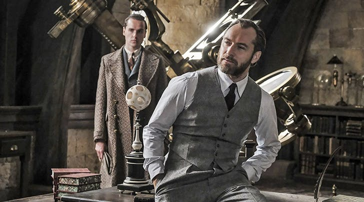 Jude Law Reveals a Major Change to the Young Dumbledore Character for Upcoming 'Fantastic Beasts Film