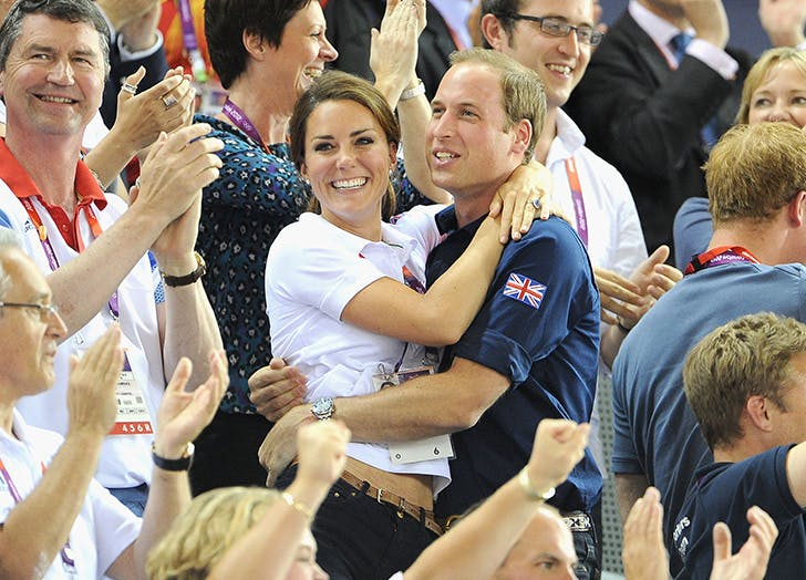 kate and william olympics