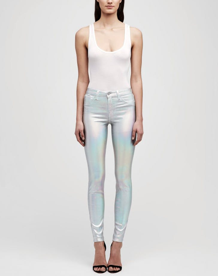 lagence iridescent mermaid jeans