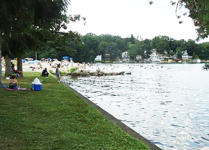 lake hopactong grass