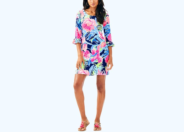 lilly pulitzer dress with upf 50