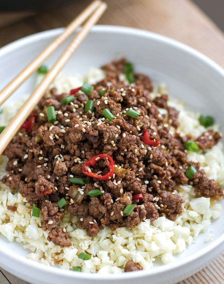 low carb korean beef bowl recipe