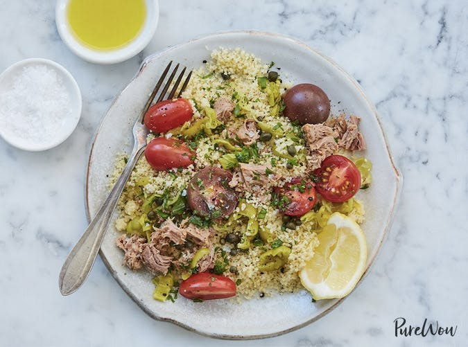 med couscous tuna