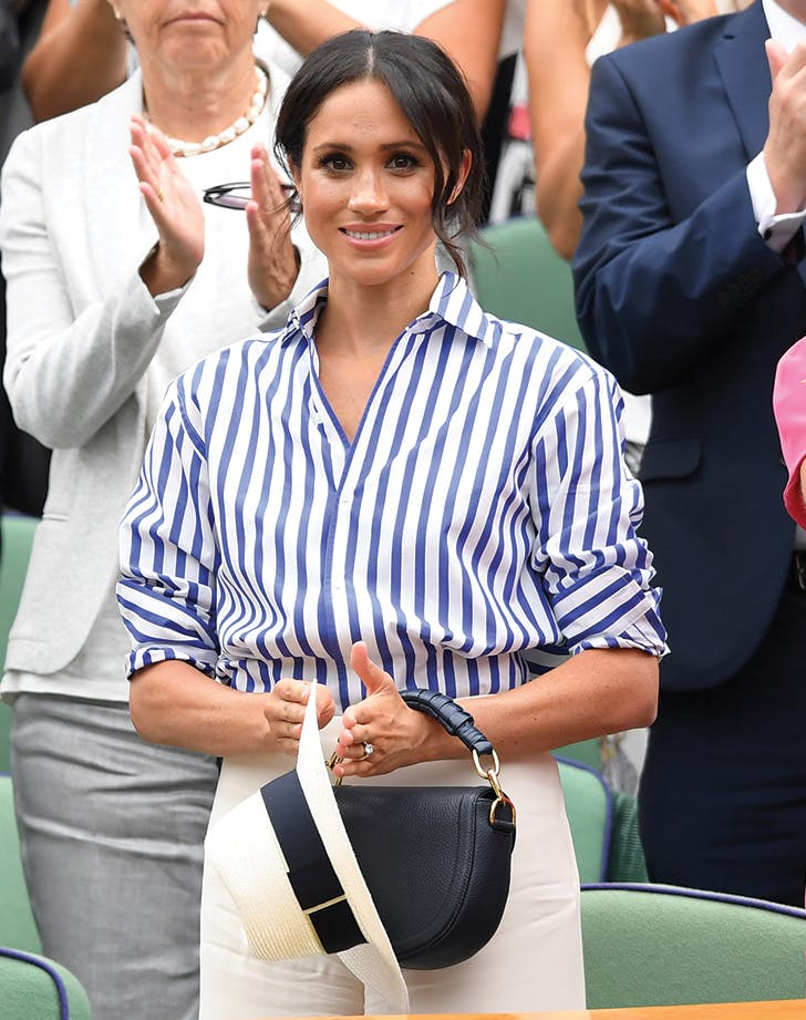 meghan markle day 1 wimbledon top