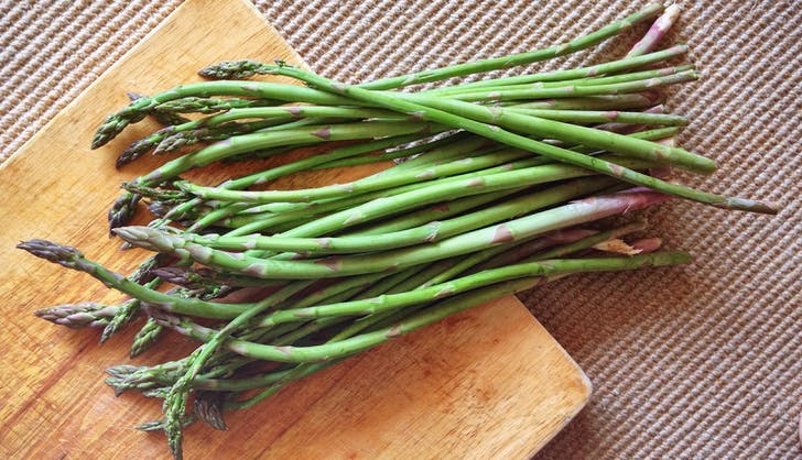 organic vs non organic asparagus