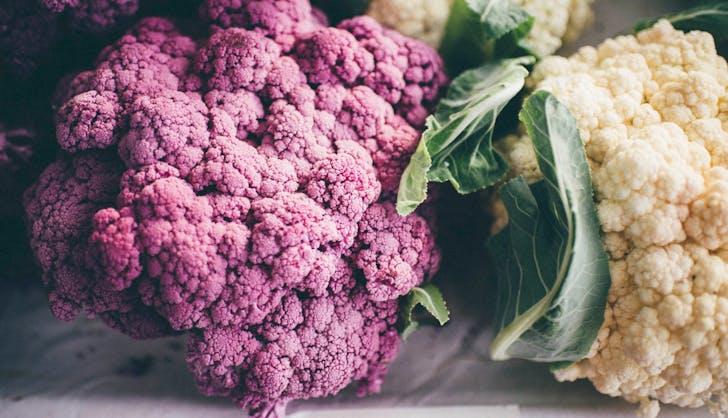 organic vs non organic cauliflower