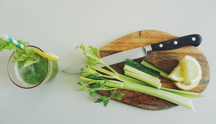 organic vs non organic celery