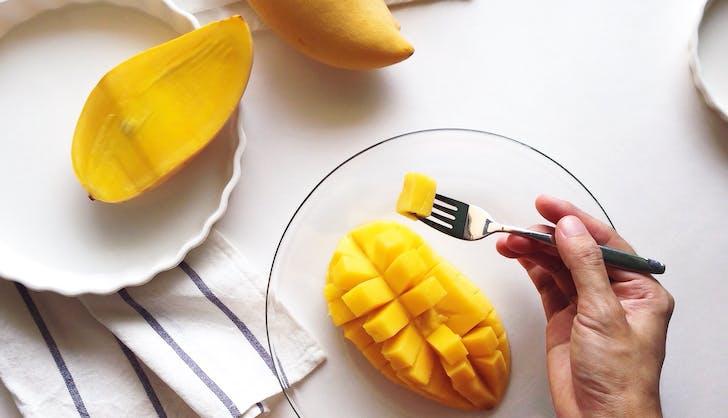 organic vs non organic mango