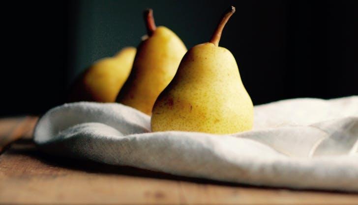 organic vs non organic pears