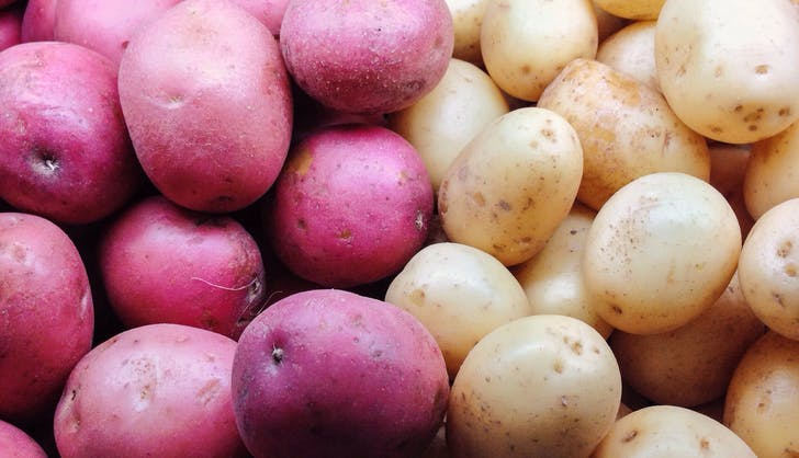 organic vs non organic potatoes