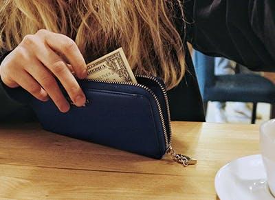 pay cash vs. credit cat