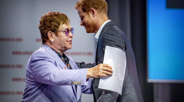 Prince Harry and Elton John Team Up to Follow in Princess Dianas Legacy