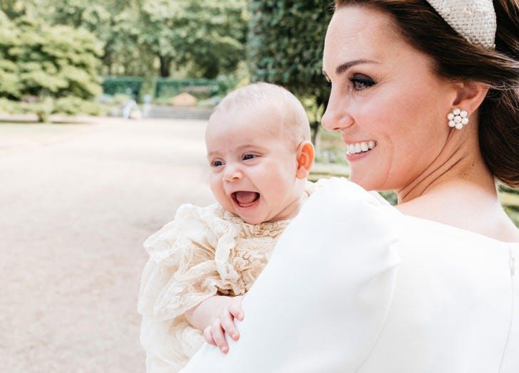 prince louis laughing kate middleton