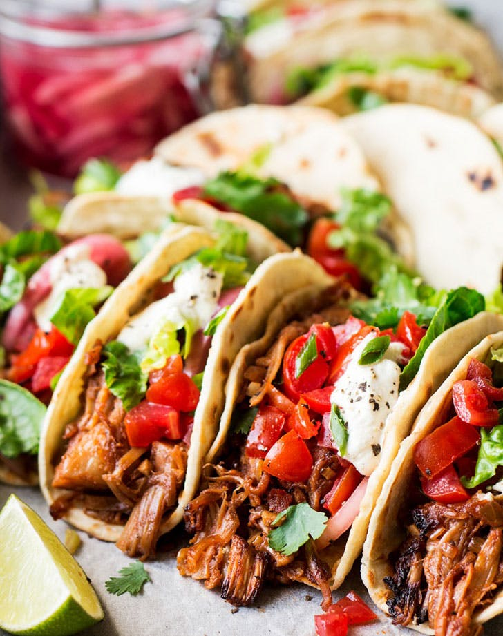 pulled jackfruit tacos recipe