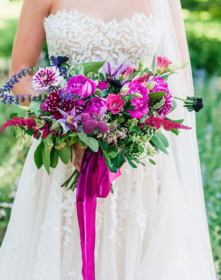 27 Summer Wedding Bouquet Ideas Purewow