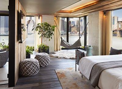 riverhouse brooklyn bridge suite bed hammock 400