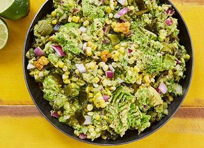 roasted poblano and corn guacamole recipe 290