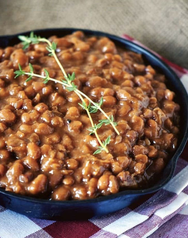 slow cooker barbecue beans recipe