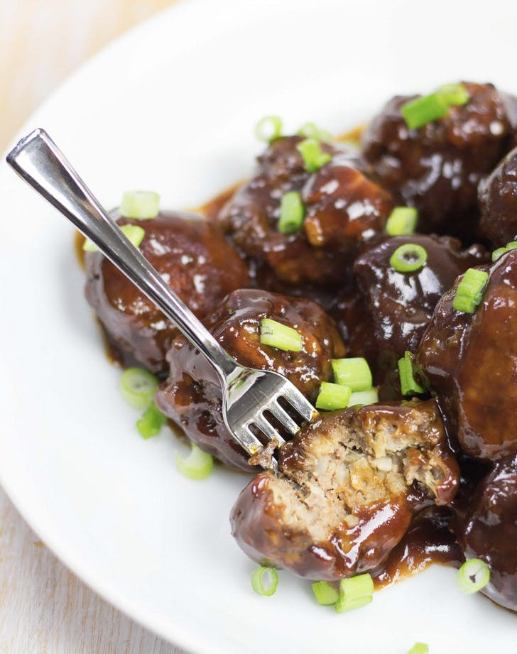 slow cooker barbecue meatballs recipe