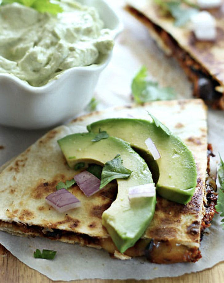slow cooker bbq chicken quesadillas recipe