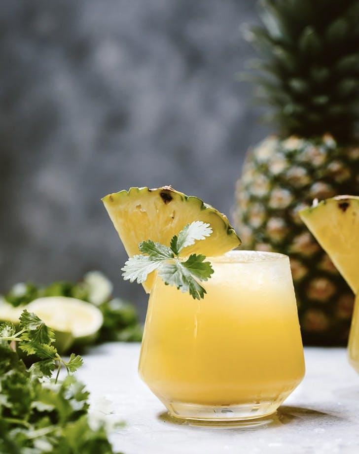 spicy pineapple jalapeno mezcalita recipe